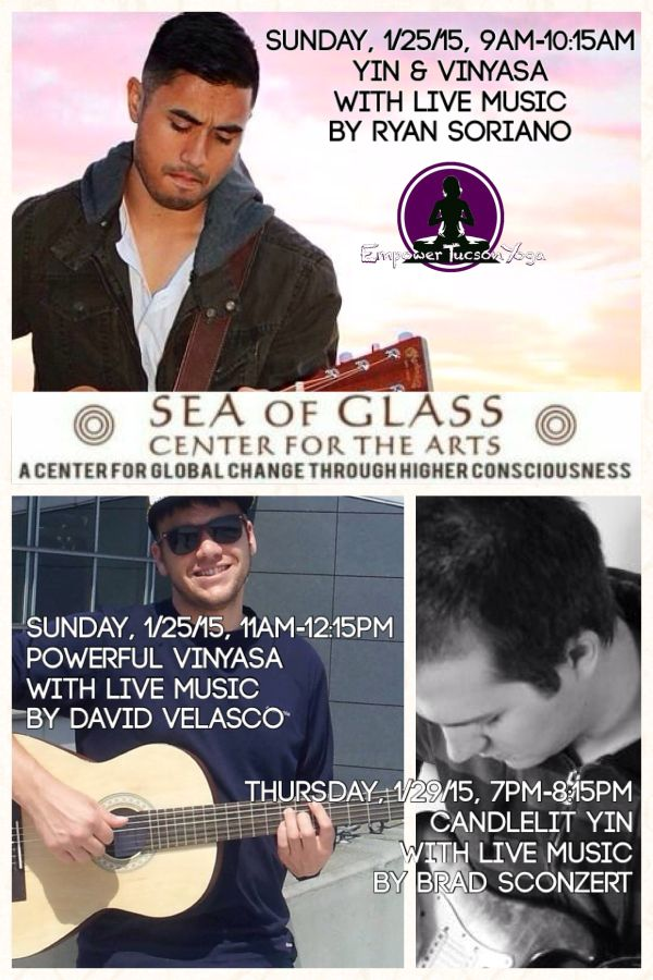 Candlelit Yin Yoga with live music by Brad Sconzert