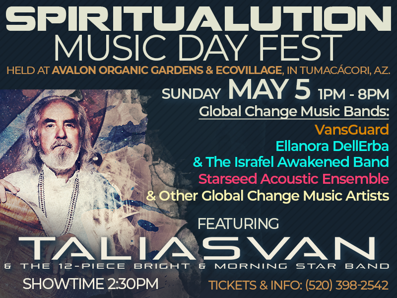 May 5th Spiritualution Music Day Fest